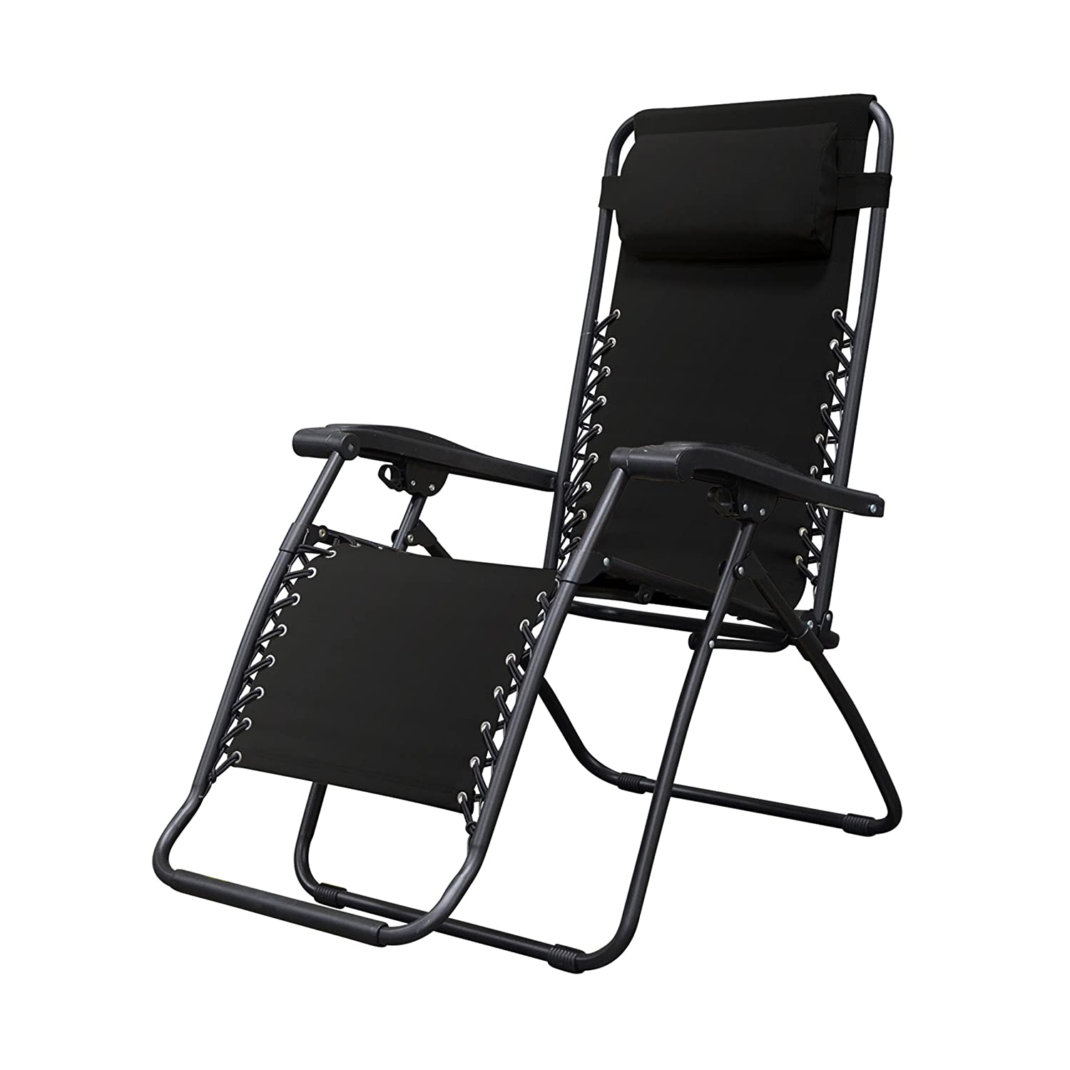 Amazon.com: Caravan Sports Infinity Zero Gravity Chair, Black ...