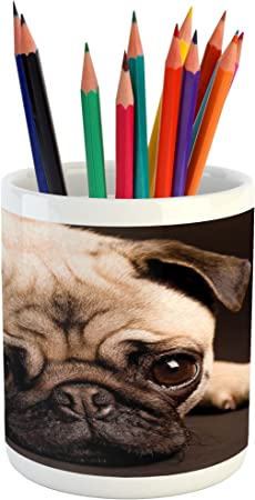 FAWN PUG PUPPIES PEN STATIONERY PET DOG LOVER BREED PHOTO GIFT