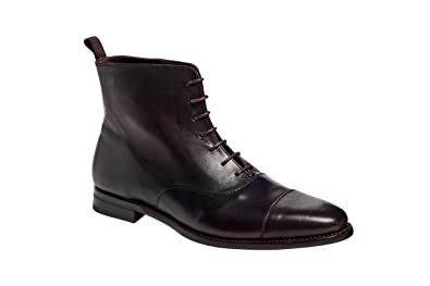 4f81f054281444 Amazon.com   Anthony Veer Men's Texas Cap-Toe Oxford Dress Boots in Premium  Leather Goodyear Welted Construction   Oxfords