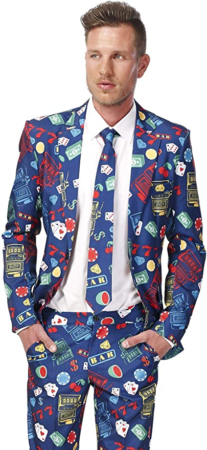 Suitmeister - Traje para hombre compuesto de chaqueta, pantalones ...