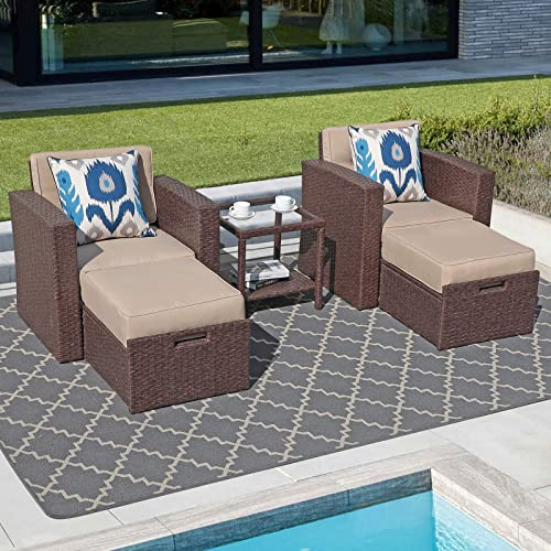 Super Patio 5 Piece Outdoor Furniture Set