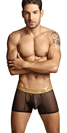 878586b0f7 Clever Desire Boxer Black - Large at Amazon Men s Clothing store ...