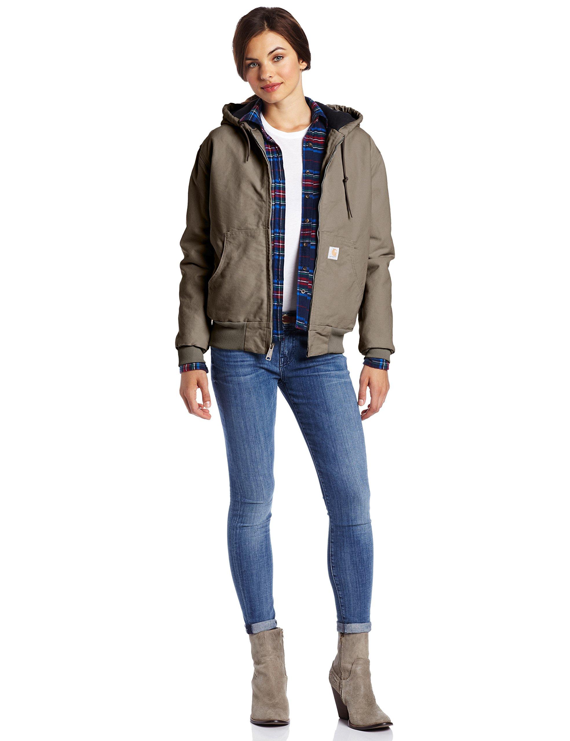 Carhartt Women's Sandstone Active Jacket, Woodland, S