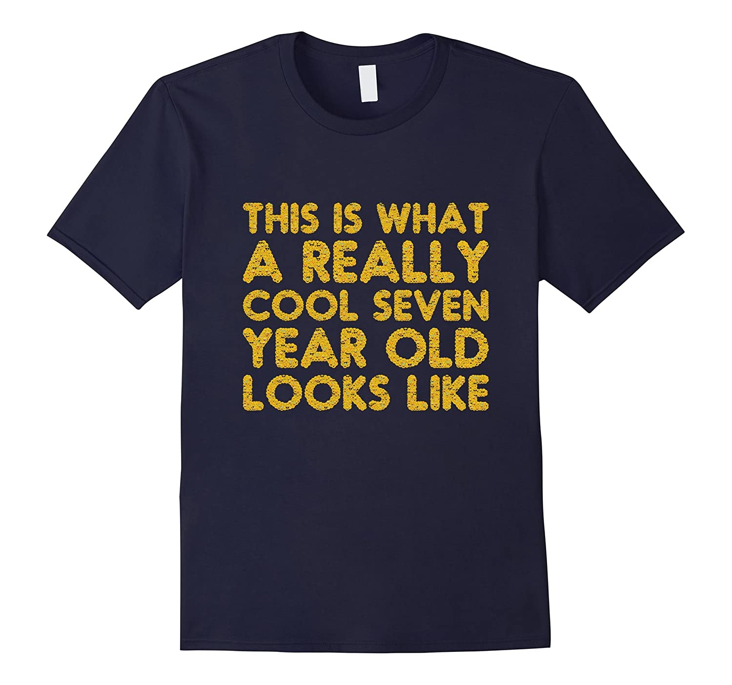 7th Birthday Shirt Gift Cool Age 7 Year Old Boy