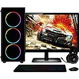 "PC Gamer Completo Intel Core i7, Geforce GTX, 8GB, Monitor 21.5"" Full HD, SSD 240GB, HD 1TB, 500W, 3green XP"