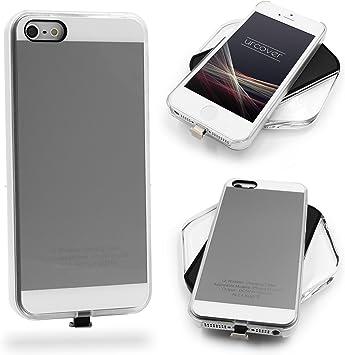 Urcover® Funda de Carga Inalámbrica | Premium | Apple iPhone SE ...