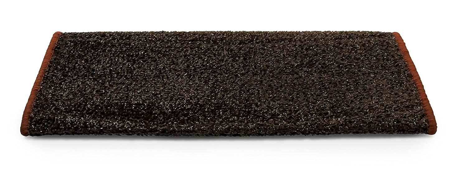 Camco 42948 RV Step Rug (Premium Radius Wrap Around Step Rug, Turf Material (22' Wide) - Blue) Turf Material (22 Wide) - Blue)