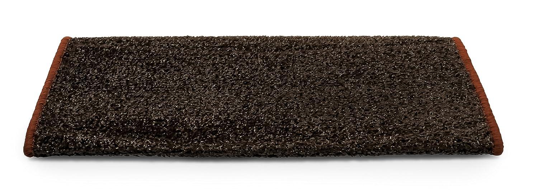 Camco 42947 RV Step Rug (Premium Radius Wrap Around Step Rug, Turf Material (22' Wide) - Black) Turf Material (22 Wide) - Black)