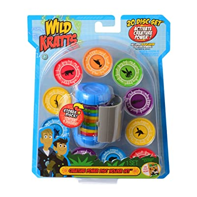 Wild Kratts Toys Creature Power Disc Holder Set with 20 Discs - Martin Kratt: Toys & Games