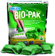 Walex BOI-11530 Bio-Pak Natural Holding Tank Deodorizer and Waste Digester Drop-Ins, Alpine Fresh Scent (10 count)