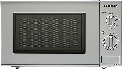 Panasonic NN-E221MMEPG - Microondas (800W, 20 litros), color Gris ...