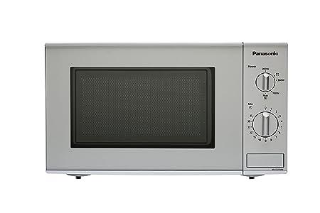Panasonic NN-E221MMEPG - Microondas (800W, 20 litros), color Gris