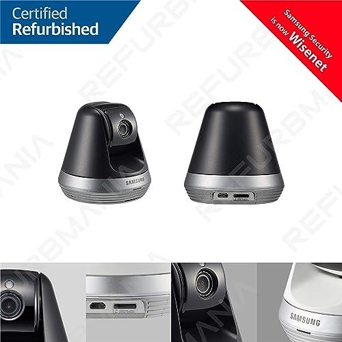 Samsung SNH-V6410PN SmartCam Pan Tilt Full HD 1080p Wi-Fi IP Camera Bundle Double Pack Renewed
