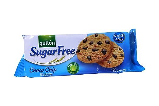Gullon Zucker Frei Choc Chip Kekse Kekse 125g Packung Amazonde