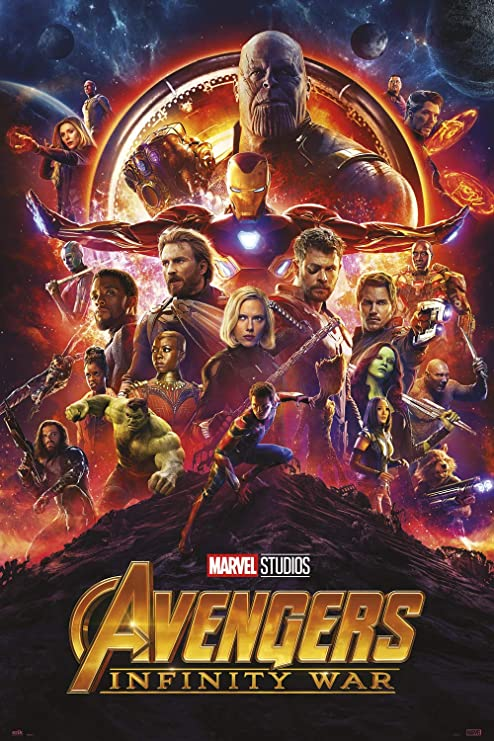 Poster avengers infinity war one sheet: Amazon.es: Oficina y papelería