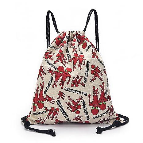 184a095c01 Outreo Zaini Firmate Borsetta Donna Borsa Moda Coulisse Backpack Borsello  Vintage Sacchetto Studenti Ragazza Scuola Zaino
