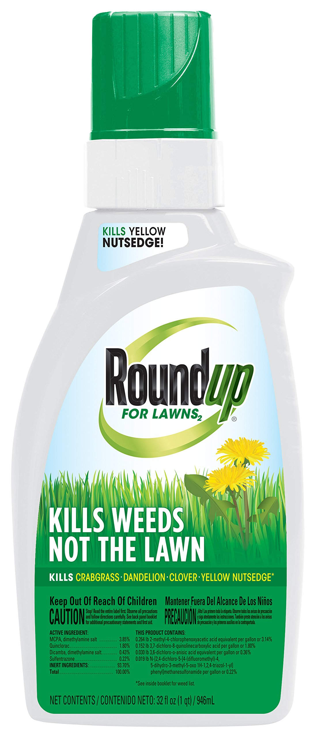 Roundup For Lawns Concentrate (Northern) - 32oz''