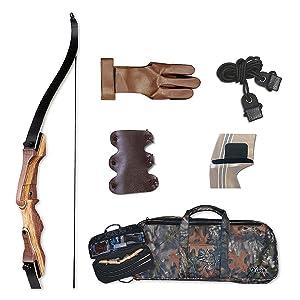 Samick Sage Take Down Recurve Bow Starter Package Bow Kit