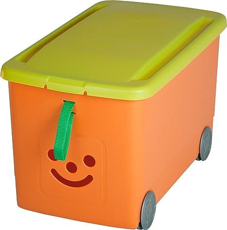 Niños aufbewahrungsbox, sistema de ordenación, caja sobre ruedas ...