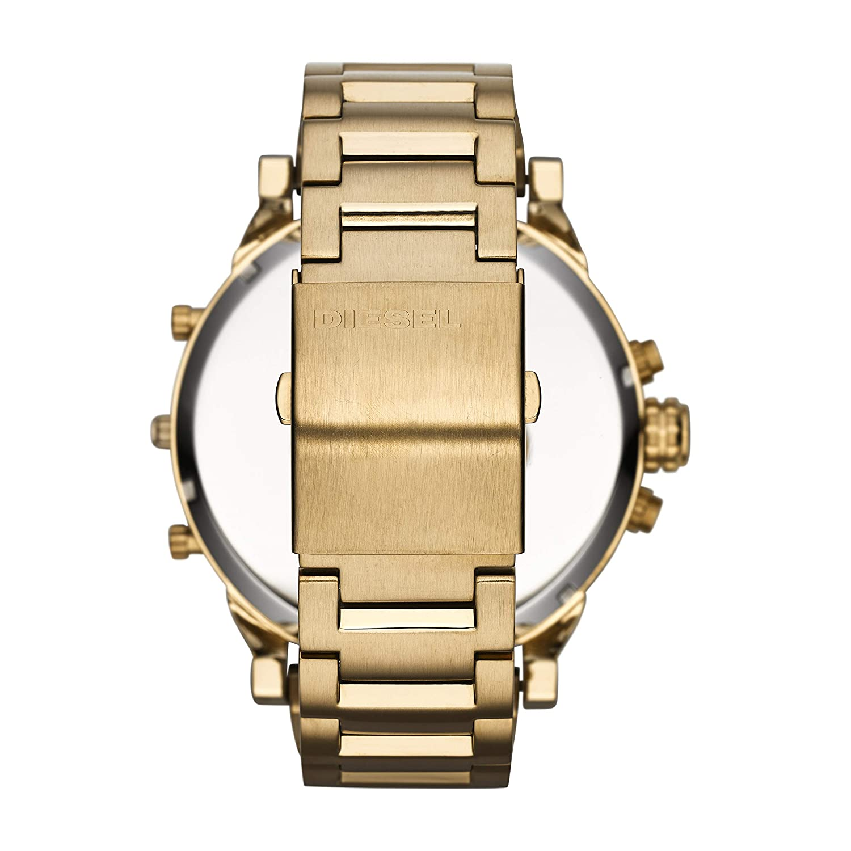 840d20c164a5 Hombre-Reloj diesel MR Daddy 2.0 cronógrafo de Cuarzo con Revestimiento de  Acero DZ7333  Amazon.es  Relojes