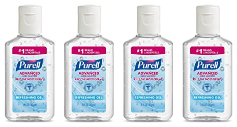 Buy Purell Advanced Hand Sanitizer Gel 1 Oz Travel Size 4 Pack