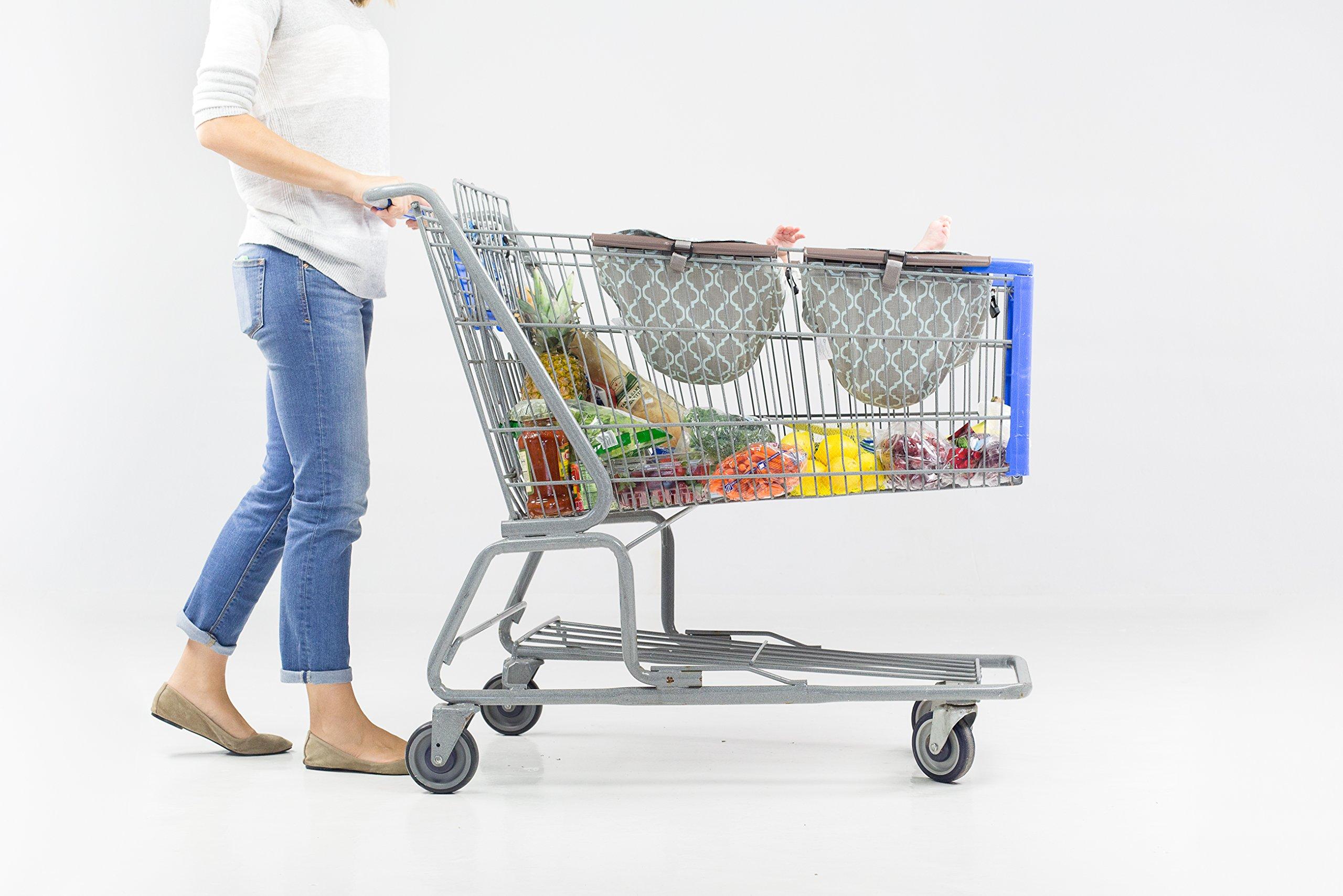 BINXY BABY Shopping Cart Hammock | The Original | Ergonomic Infant Carrier + Positioner by Binxy Baby (Image #7)
