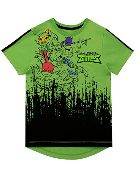Teenage Mutant Ninja Turtles Camiseta de Manga Corta para ...