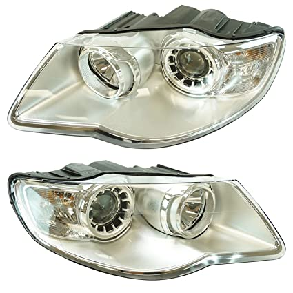 2007 vw touareg headlight replacement