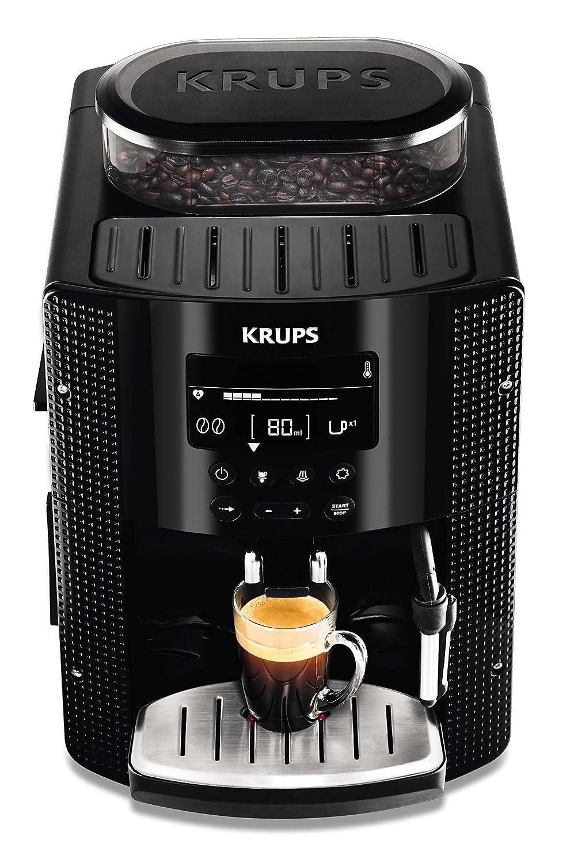 Krups EA815070 - Cafetera automática 15 bares de presión, pantalla...
