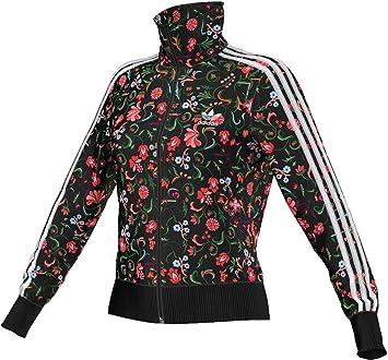8ae5419968b65 adidas Originals Firebird Women's Tracksuit Jacket, Womens,  Negro/Rosa/Blanco/Verde
