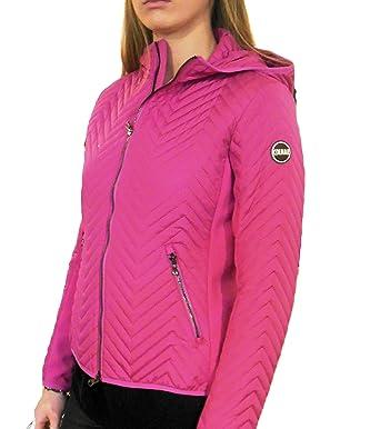 designer fashion 632b9 e8e85 Colmar taillierte Daunenjacke Punk Damen rosa (42): Amazon ...