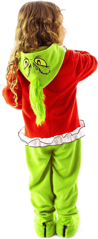 The Grinch Pajamas PJS Set Christmas Family Matching Womens Set Loungewear UK