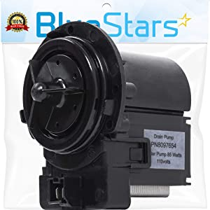 Ultra Durable DC31-00054A Washer Drain Pump Replacement Part by Blue Stars - Exact Fit for Samsung Maytag Kenmore Dishwasher - Replaces DC31-00016A PS4204638