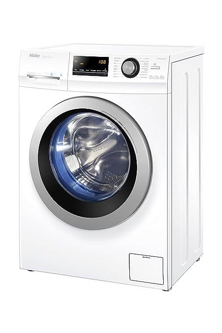 Haier HW70-BP14636 Waschmaschine Frontlader/A+++ / 99 kWh/Jahr / 1400 UpM / 7 kg/Vollwasserschutz / ABT/weiß