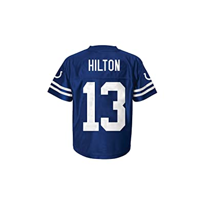 pretty nice 29d76 343d1 T.Y. Hilton Indianapolis Colts Blue Home Player Jersey Youth ...