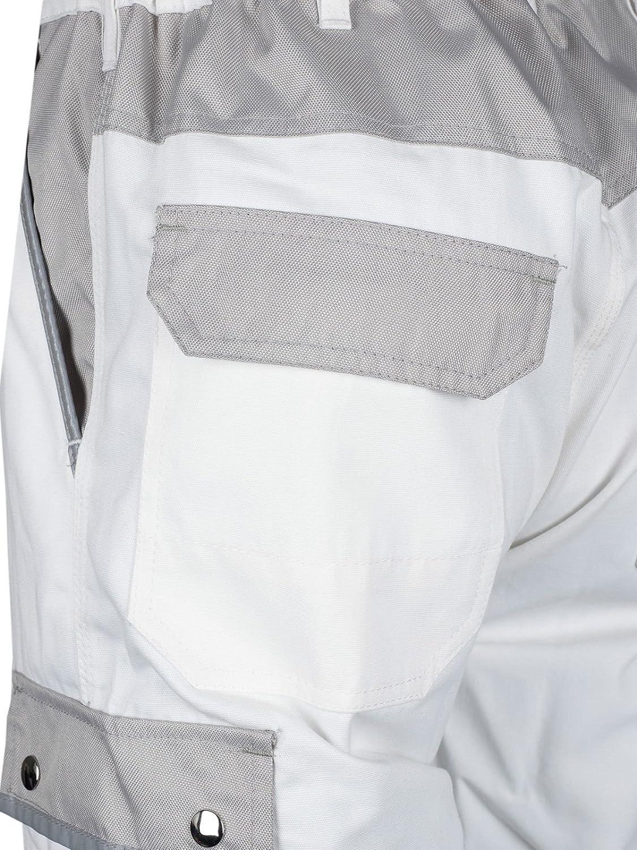 TMG Malerhose Arbeitshose Bundhose /Übergr/ö/ße Canvas 320g//m/² wei/ß Gr 44-80