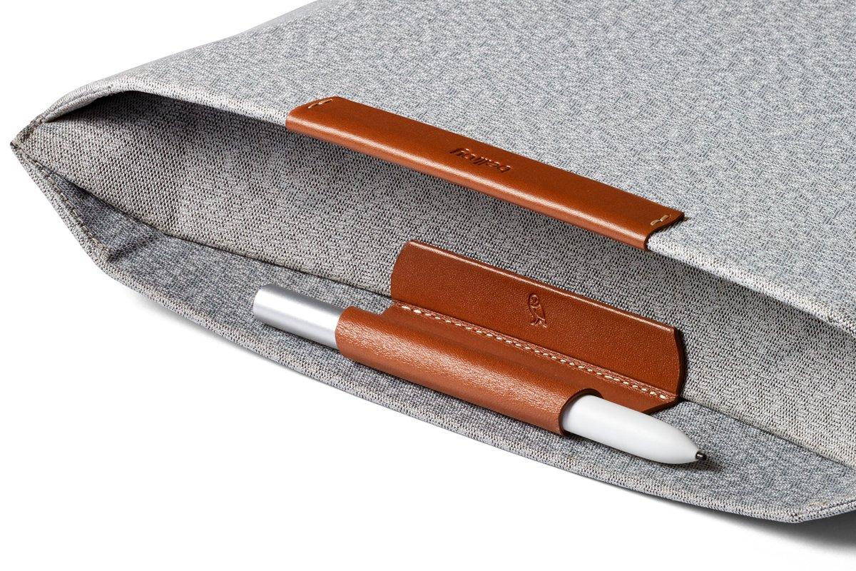 Bellroy Pixelbook Sleeve (Google Pixelbook, Pixelbook Pen) Light Grey DHSA-LightGrey