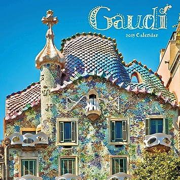 Calendario 2019 artista Gaudi - Art Nouveau - Sagrada ...