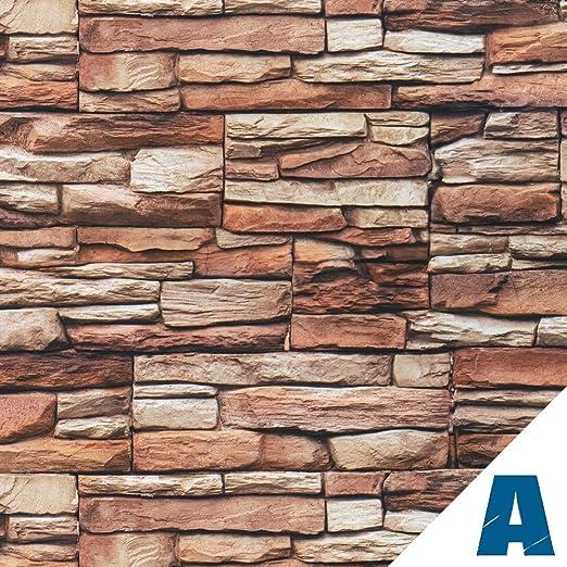 1 opinioni per Artesive ST-02 Pietra Rustico larg. 100 cm AL METRO LINEARE- Pellicola Adesiva