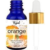 Ryaal Orange Essential Oil (100% PURE& NATURAL - UNDILUTED) Therapeutic Grade - 30ML - Perfect for Aromatherapy, Relaxation, Skin Therapy & More (30ML)