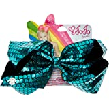 Claire's Girl's JoJo Siwa Turqouise Holographic Mermaid Signature Hair Bow
