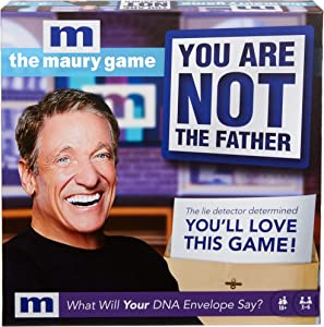 The Maury Game: You are Not The Father, Funny Adult Party Game with Game Board and Cards