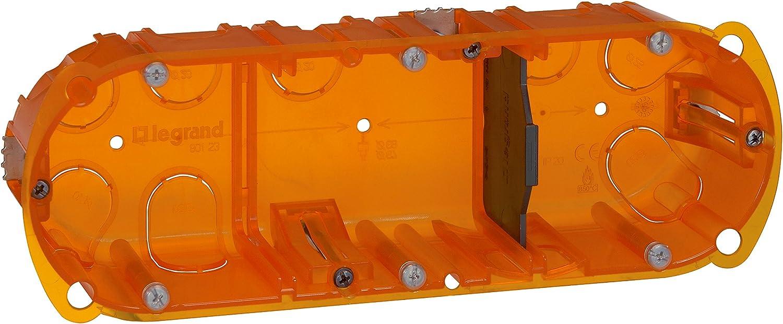 Legrand Batibox LEG90507 - Caja de empotrar (3 elementos, varios ...