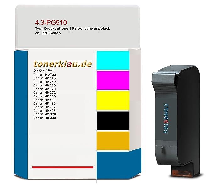 compatible Cartucho de impresión/de 4.3 de tinta PG510 para: Canon ...