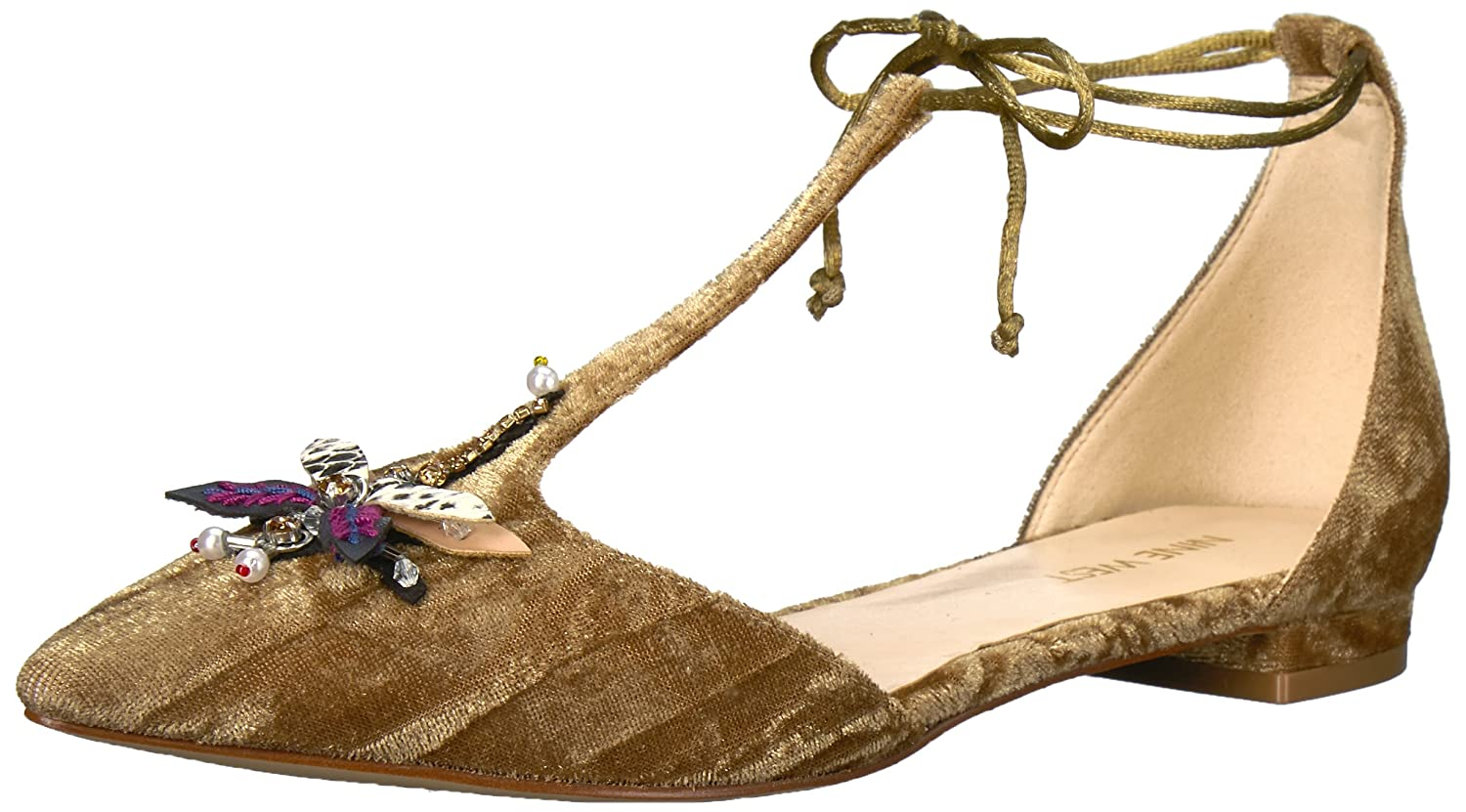 Nine West Women's Amethyst Fabric Pump B073RNFXY6 8 B(M) US|Green