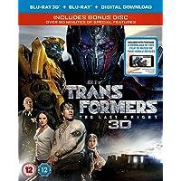 Transformers: The Last Knight (3D Blu-RayTM + Blu-Ray + Bonus Disc + Digital Download) [2017] [Region Free]