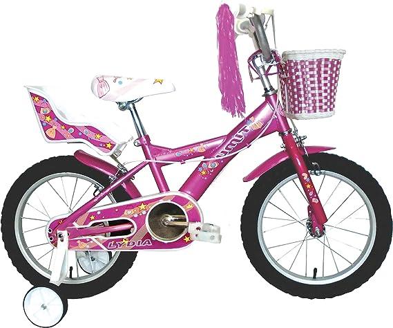Umit J1651 Bicicleta Infantil, Niñas, Rosa, 16