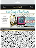 """iCraft Deco Foil Clear Designer Toner Sheets (Branching Out), 8.5"""" x 11"""", 4 Sheets per Pack"""