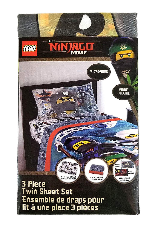 LEGO The Ninjago Movie 3-Piece Kids Twin Sheet Set by LEGO