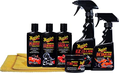 Meguairs Motorcycle Care Kit